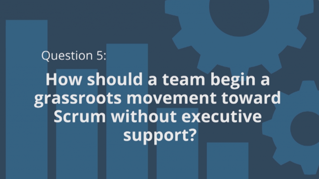 Scrum Grassroots Movement