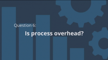 is process overhead in scrum